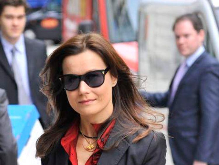 Yelena Gorbunova, partner of exiled Russian tycoon Boris Berezovsky