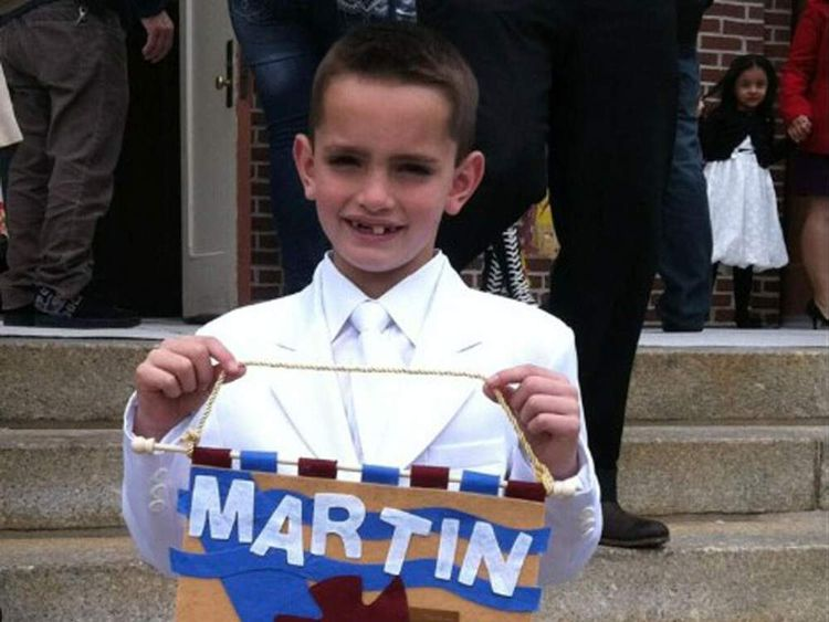 Image of 8-year-old Martin Richard who has been named as one of the dead from the Boston marathon bombings
