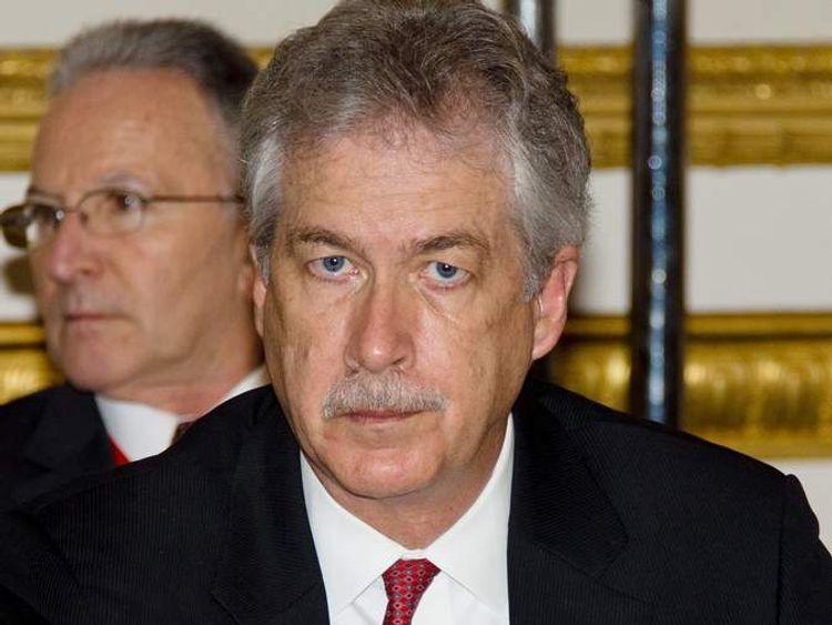 US Deputy Secretary of State Bill Burns sent to Egypt