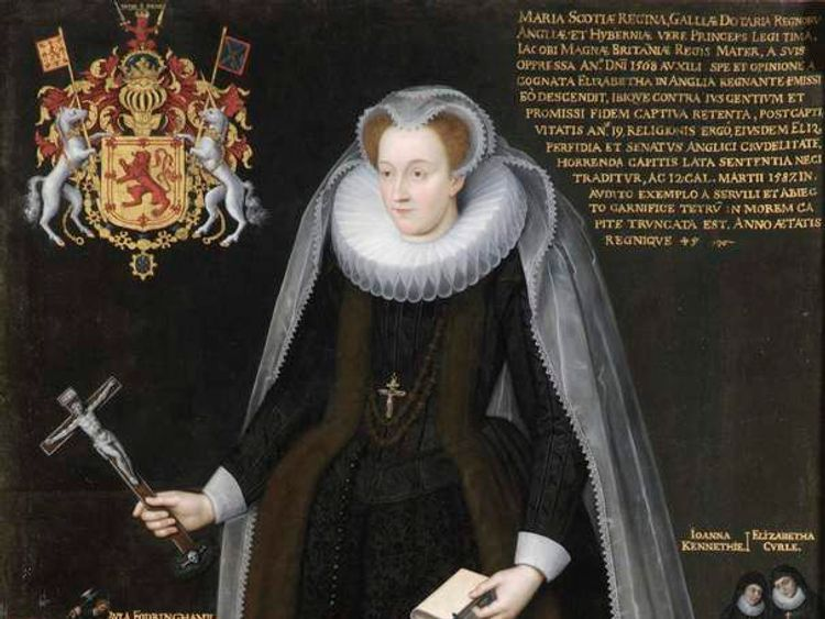 Mary, Queen of Scots. Photo: Blairs Museum Trust