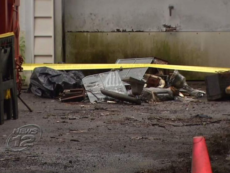Poughkeepsie, NY home where body was found (Pic: News 12 Westchester)