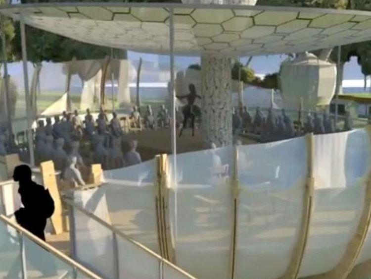 Art installation backed by actress Helena Bonham Carter