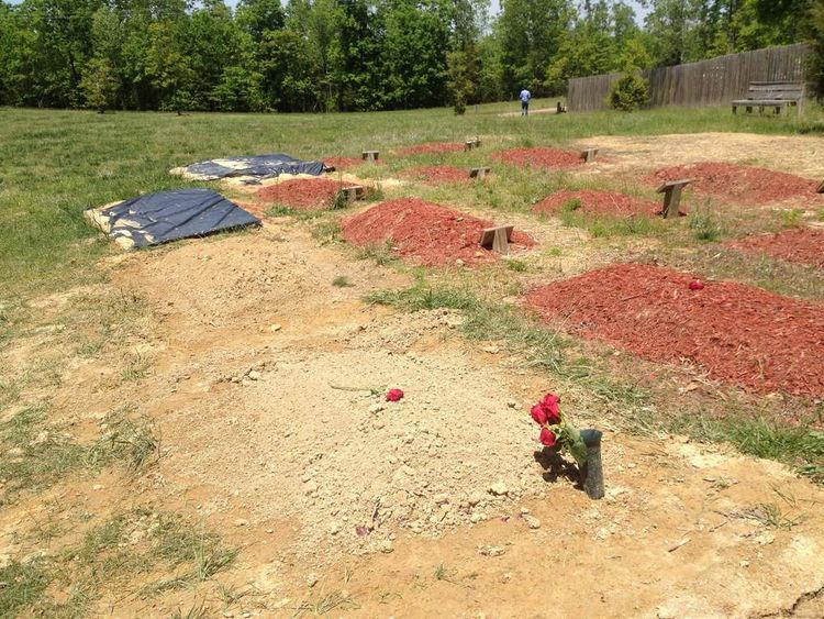 The unmarked grave of Tamerlan Tsarnaev