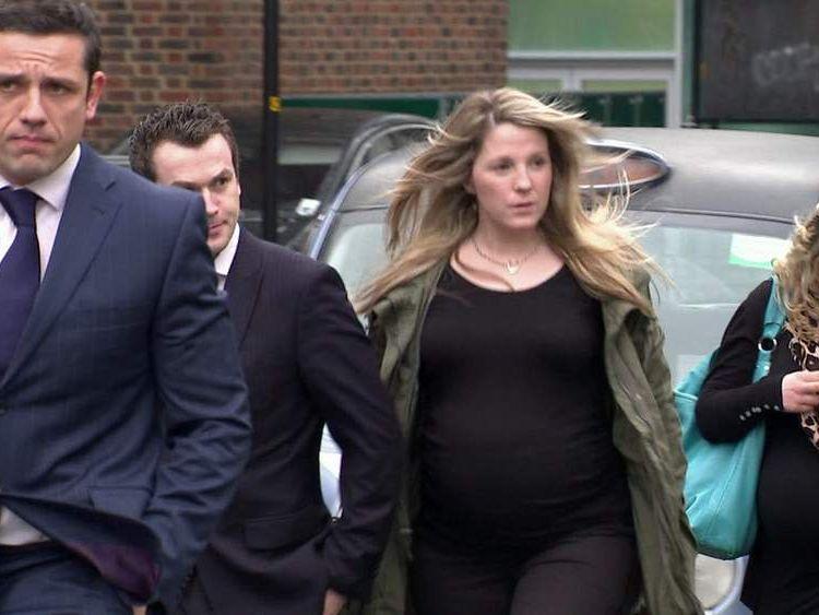 Simon Van Herrewage arrives at inquest
