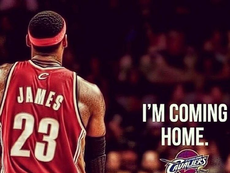 110714 BREAKING NBA's LeBron James Going Back To Cleveland