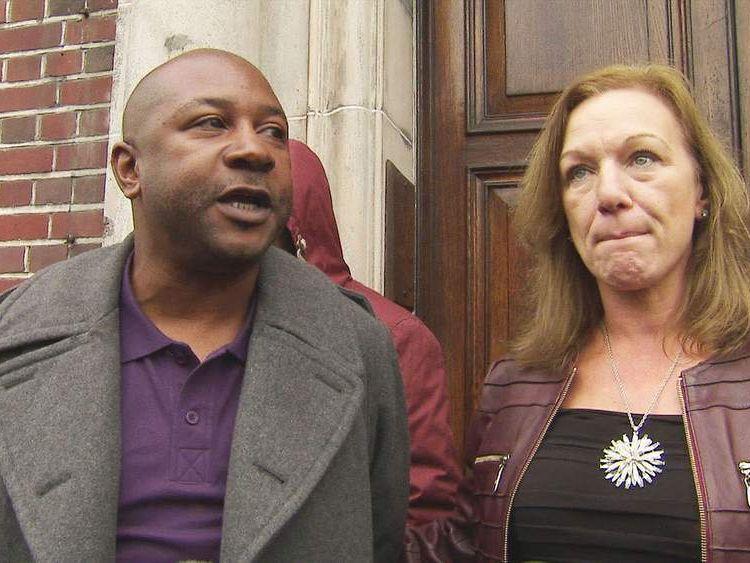 Shaun Hall and Carole Duggan.