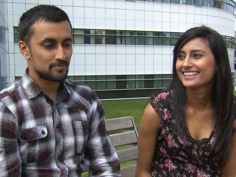 Sharandeep Nagra, 26, and her twin brother, Jasdeep