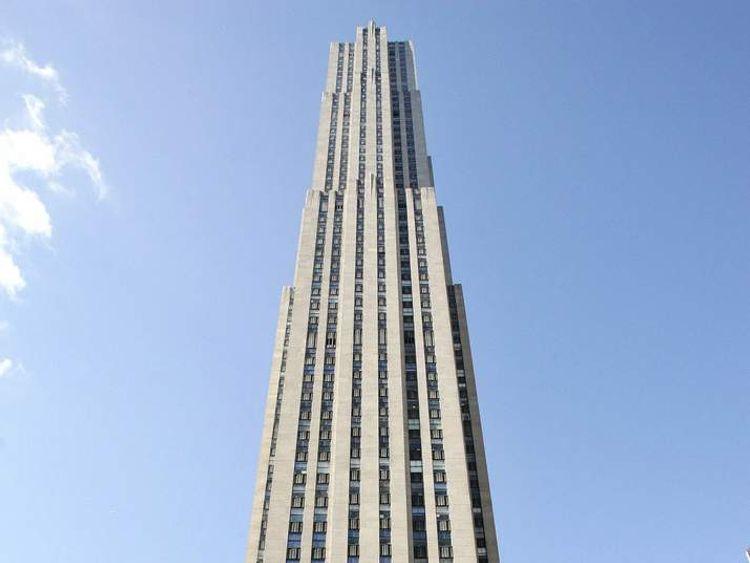 Rockefeller Plaza deck