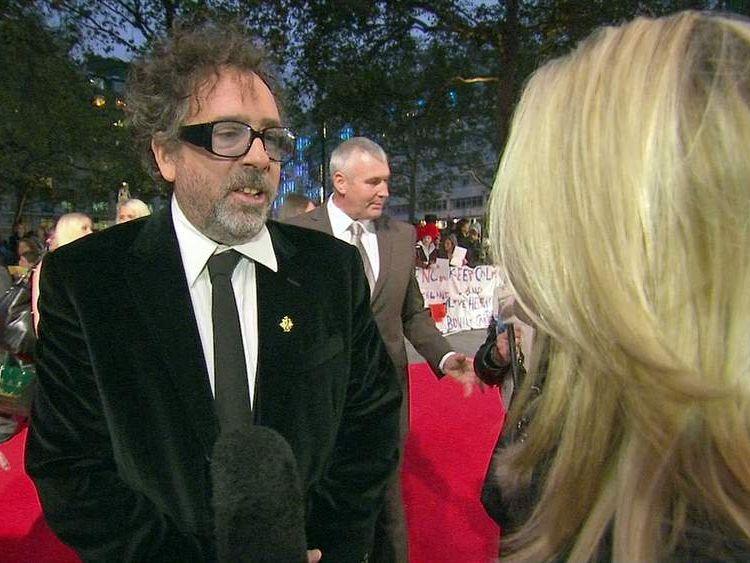 Film director Tim Burton