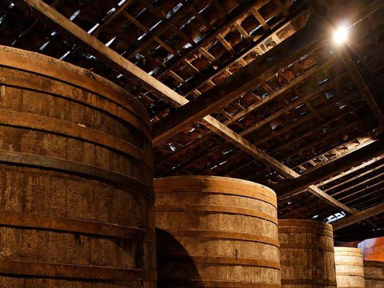 Barrels of cachaca in Maranguape in Brazil (Photo Eric Gaba)