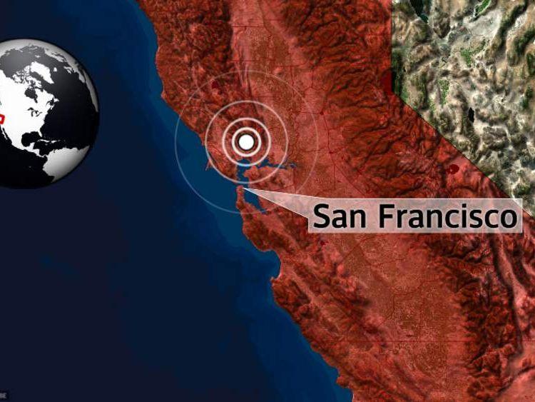California earthquake.