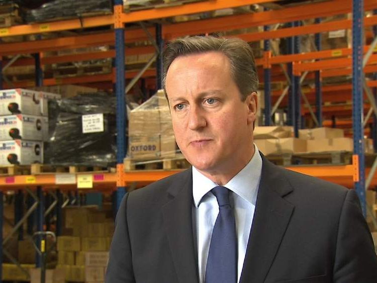 David Cameron said the Conservatives had got to work harder