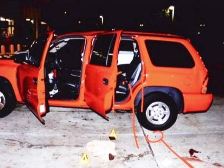 Car that Michael Dunn sprayed with bullets