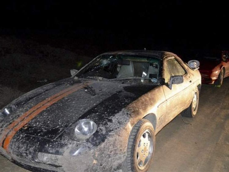Jeremy Clarkson's car attacked by mob