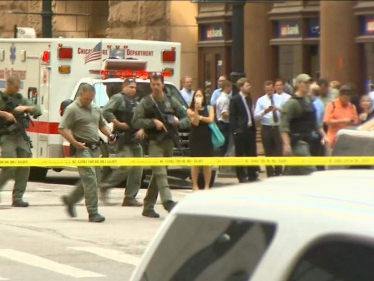Chicago office shooting