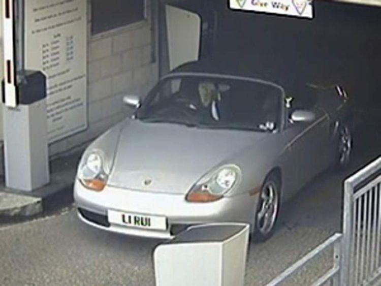 CCTV of missing Dorset nurse Rui Li leaving Poole Hospital