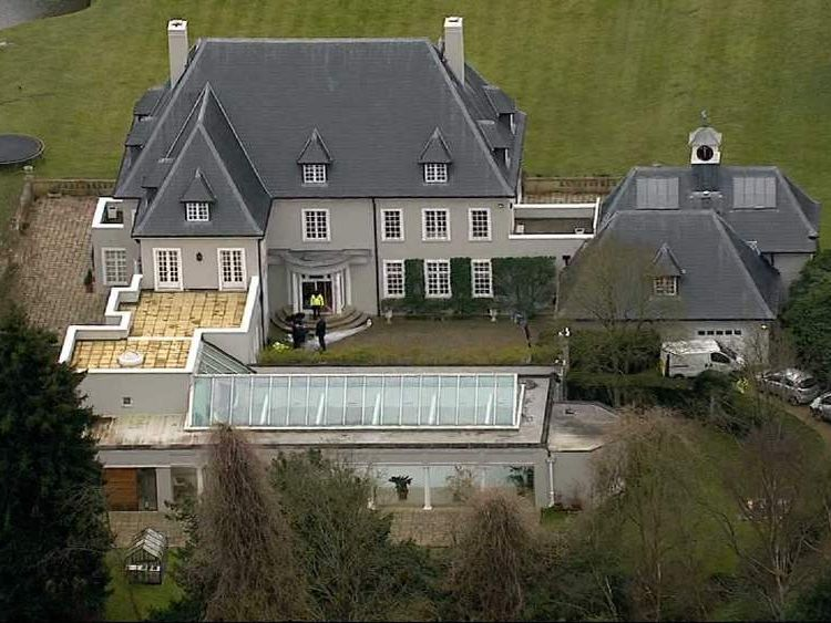 Boris Berezovsky's house in Ascot, Berkshire
