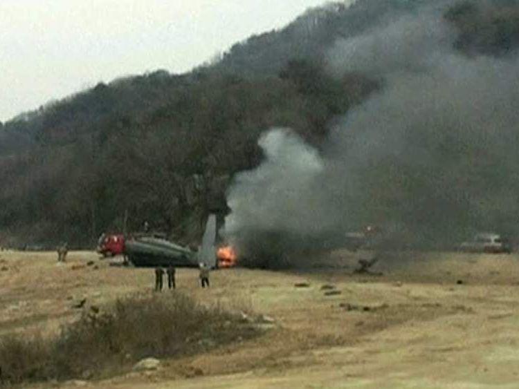 US helicopter crash