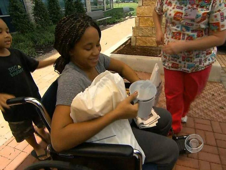 Miracle Tornado baby mum Shayla Taylor