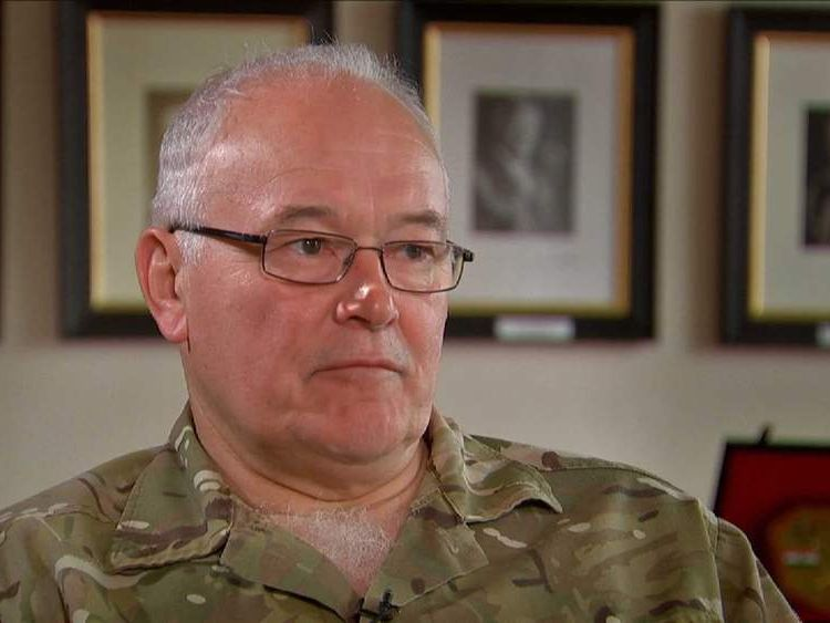 "General Sir Peter Wall said further savings likely to be ordered by the Government could prove ""quite dangerous, quite soon""."