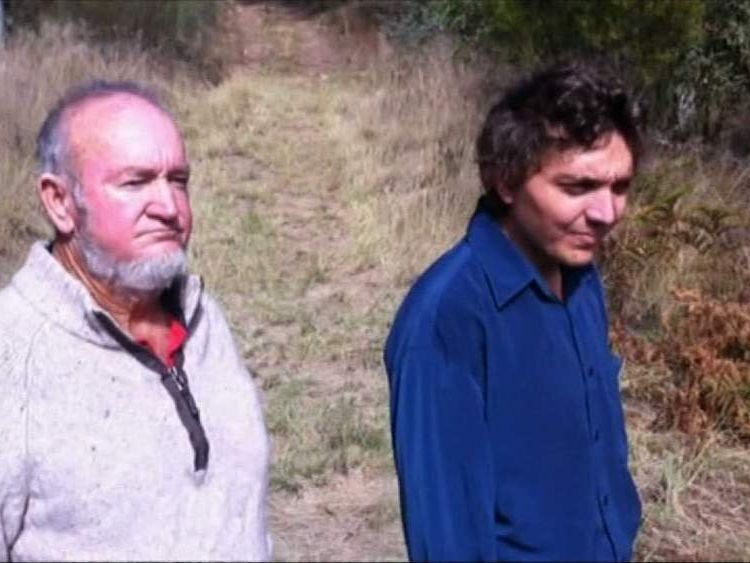 Bill Lynam and his surviving son Joshua