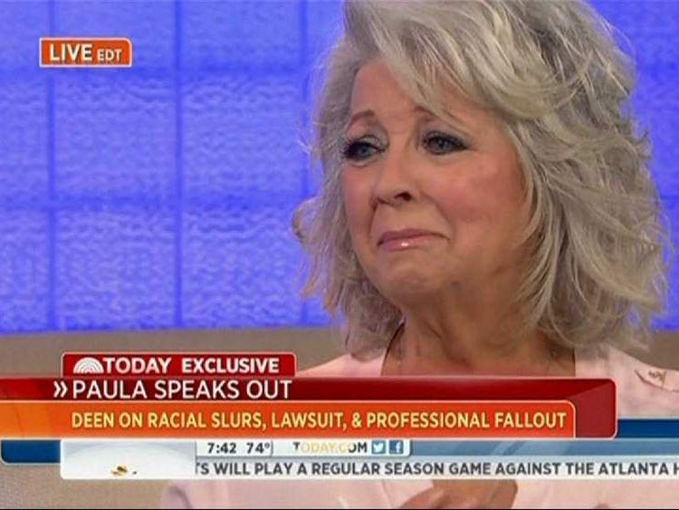 Paula Deen (Pic: NBC)