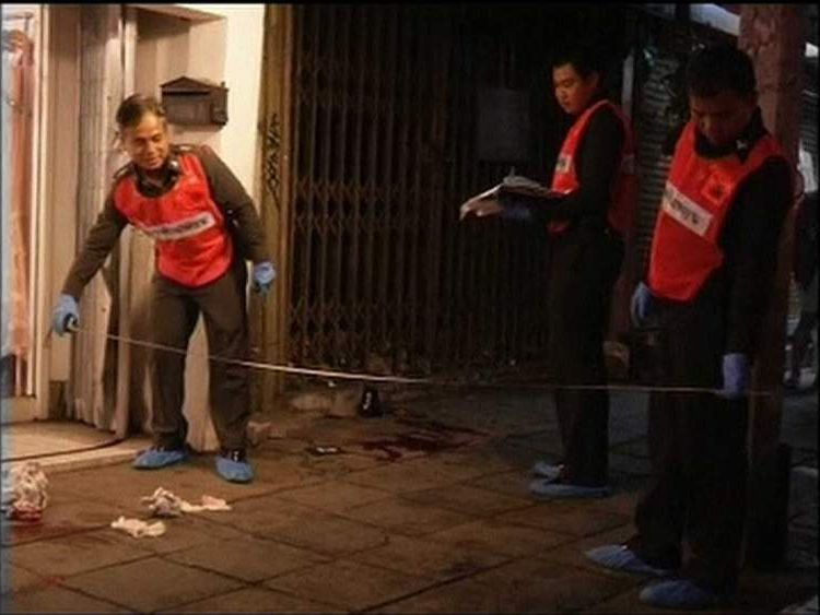 Thai taxi driver alleged to have killed US citizen