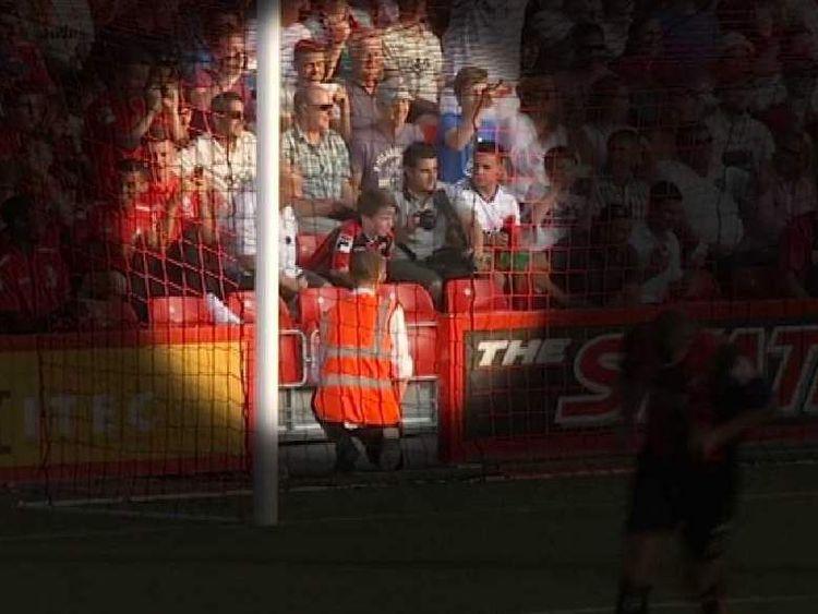 Bournemouth Fan's Arm Broken By Ronaldo