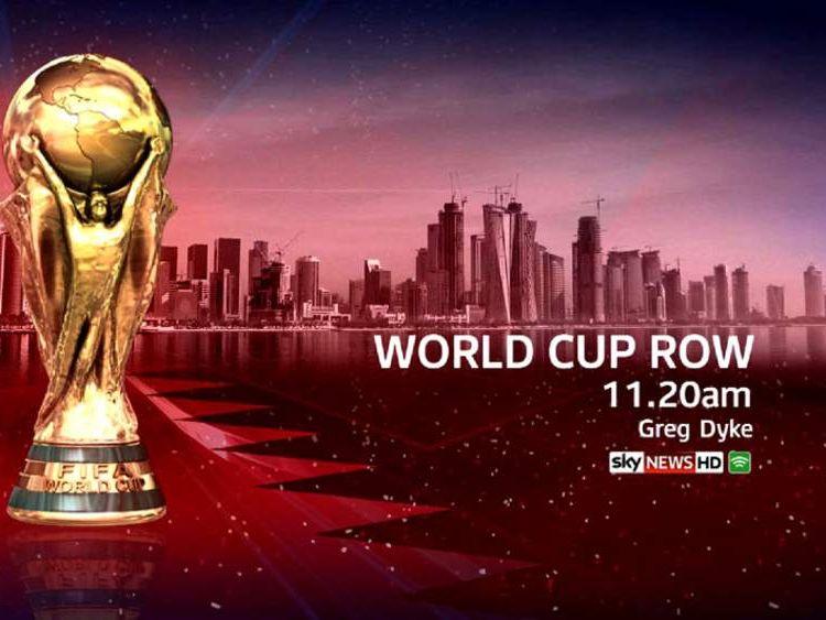 Greg Dyke on Fifa - Sky News at 11.20am.