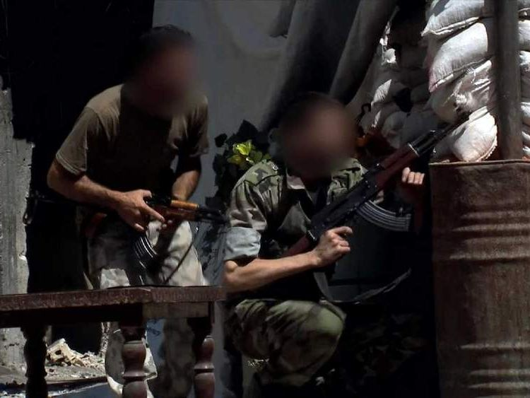 Syrian troops in gunfight with rebels in Tadaman