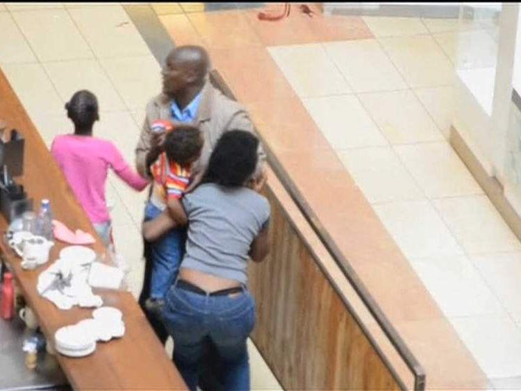 Rescue inside Kenya Westgate mall