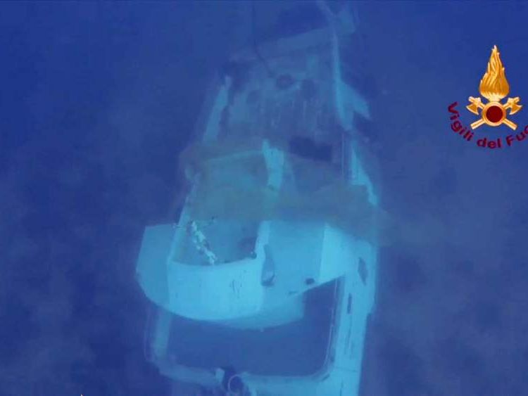 Boat carrying African migrants sinks off Italian island