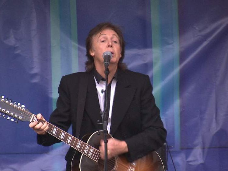 Paul McCartney In London