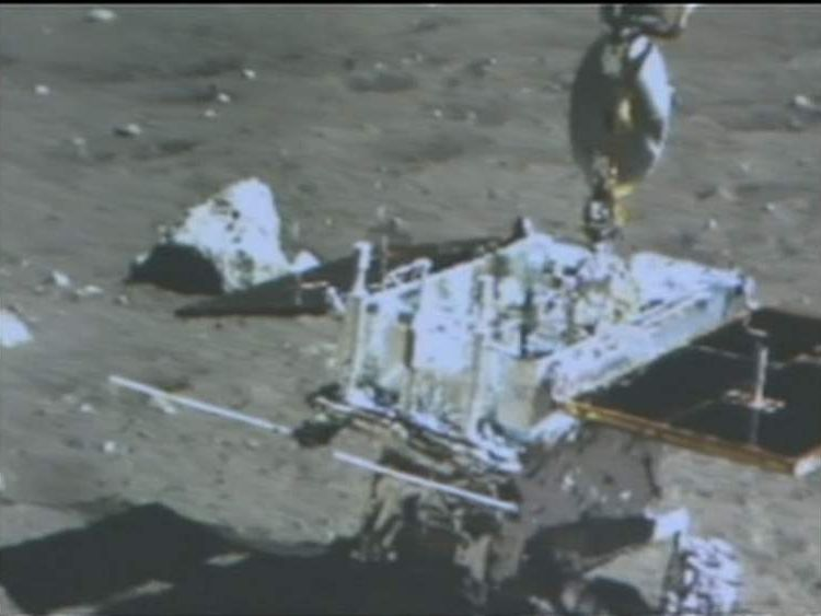 The view from China's moon rover