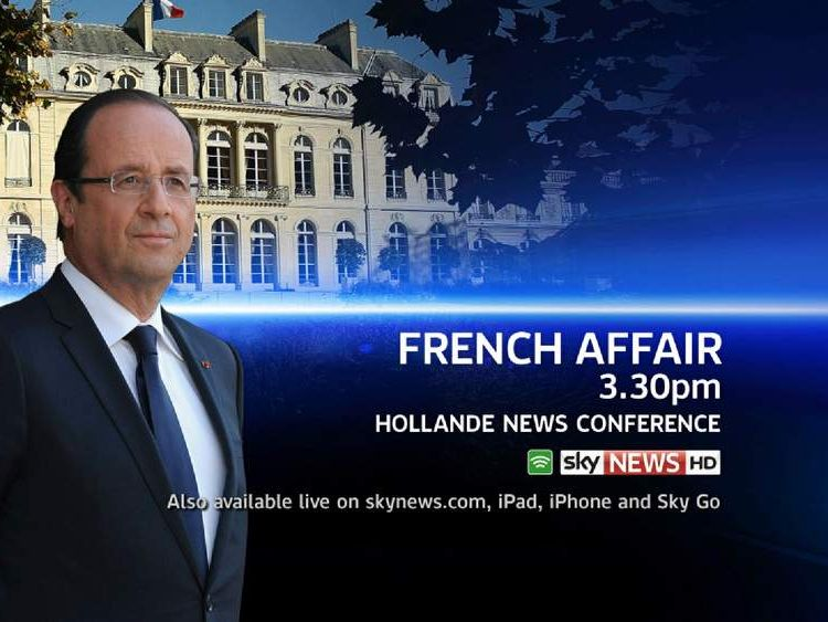 Francois Hollande Press Conference Promo