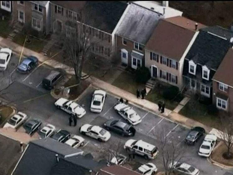Scene of Germantown murders