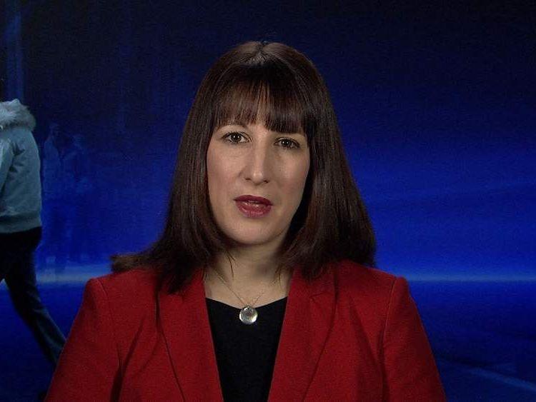 Shadow Work & Pensions Secretary Rachel Reeves