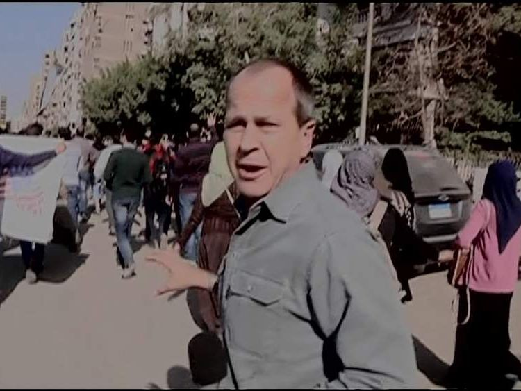 Al Jazeera Journalist Peter Greste Remains In Custody In Egypt