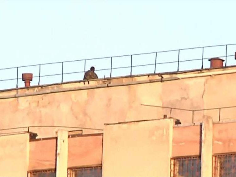 Attack on military base in Simferopol, Crimea