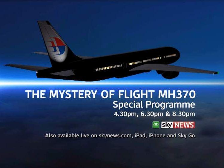 missing plane promo