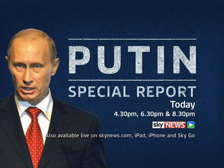 Vladimir Putin Special Report Promo