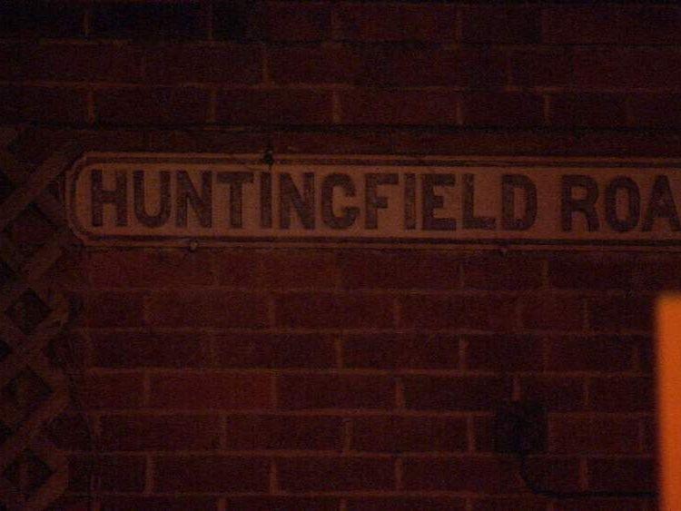 Roehampton murder scene