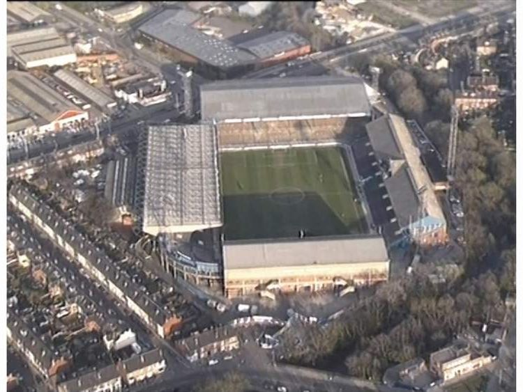 Hillsborough inquest: Aerial view of Sheffield Wednesday's stadium