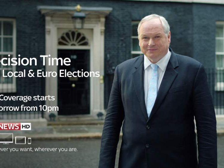 Election coverage promo - ADAM BOULTON