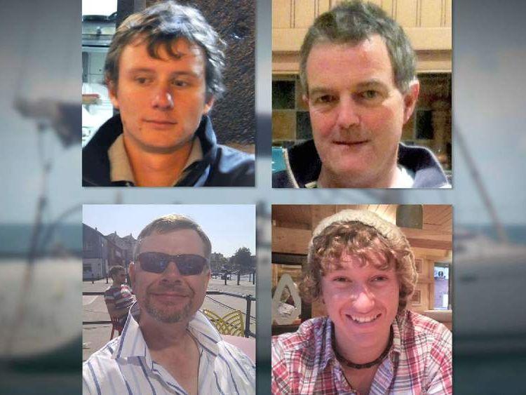 (Top L-R) Andrew Bridge, Paul Goslin. (Bottom L-R) Steve Warren, James Male