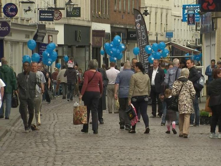 Campaigning ahead of Newark by-election