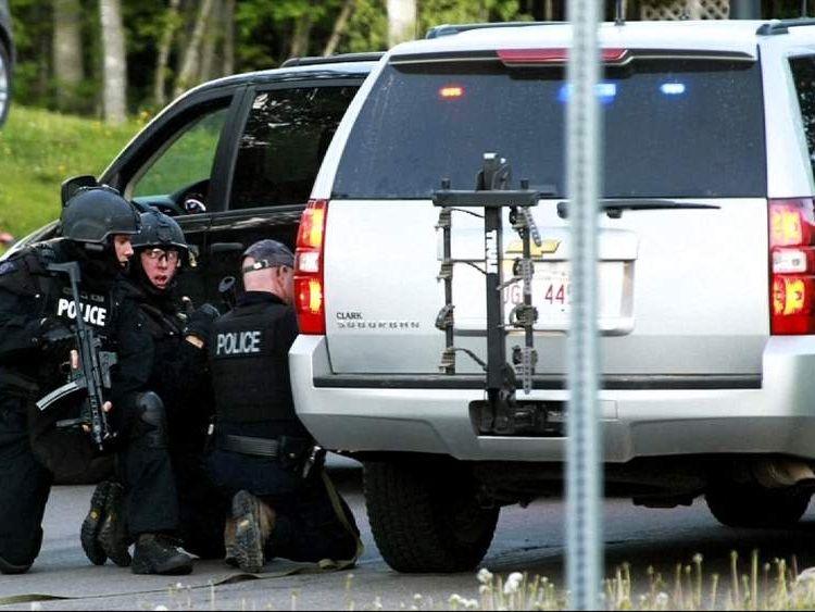 Canada New Brunswick police shooting