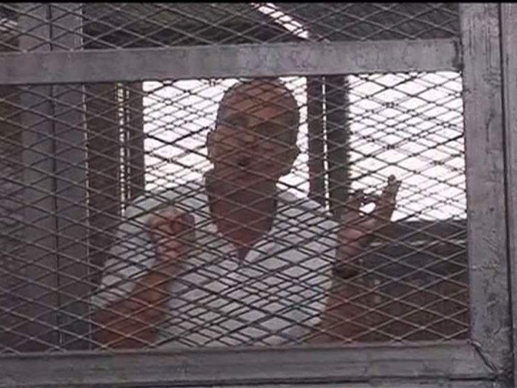 Al Jazeera journalist Peter Greste appears in court in Egypt
