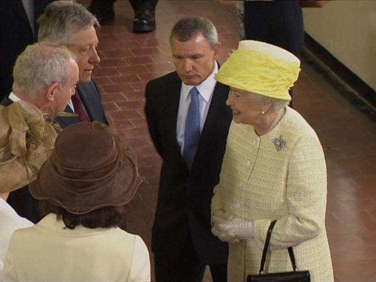 The Queen Visits Northern Ireland