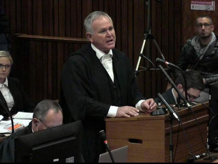 Defence lawyer Barry Roux